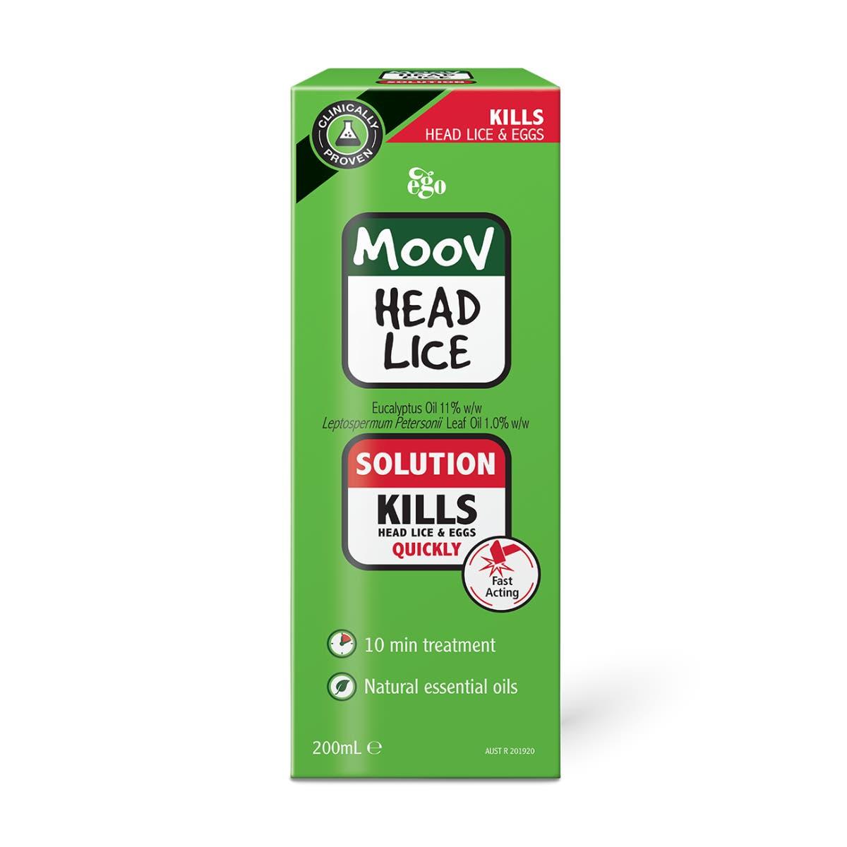 MOOV Head Lice Solution 200mL