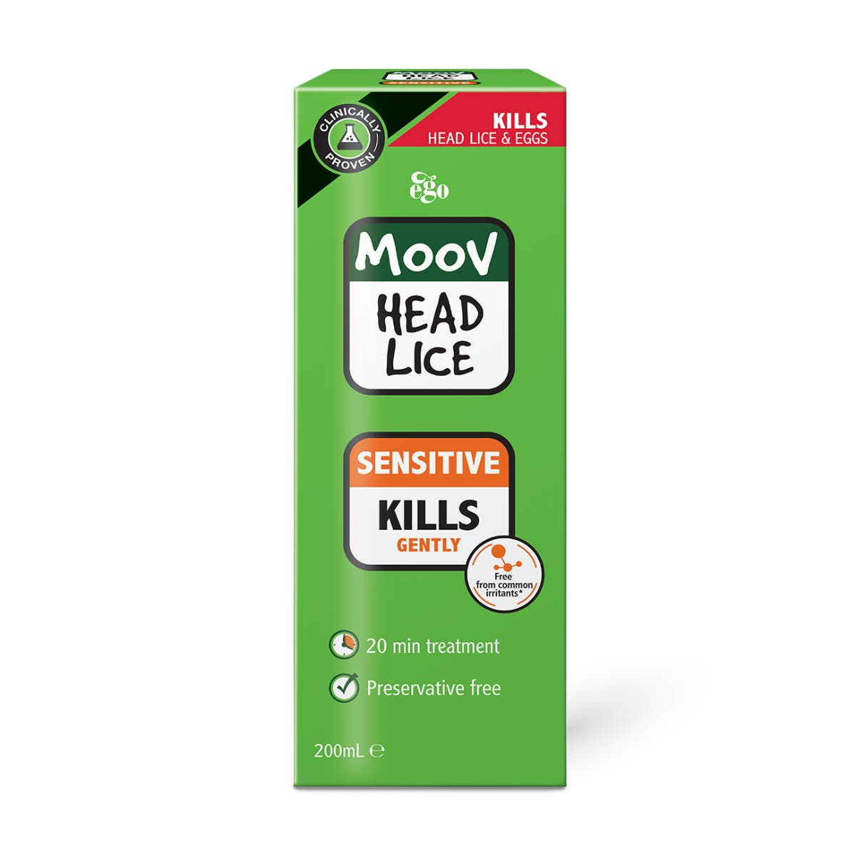 MOOV Head Lice Sensitive 200mL