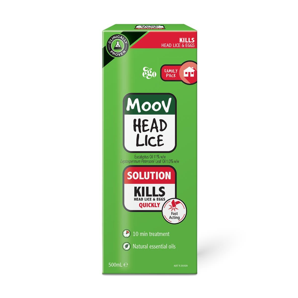MOOV Head Lice Solution