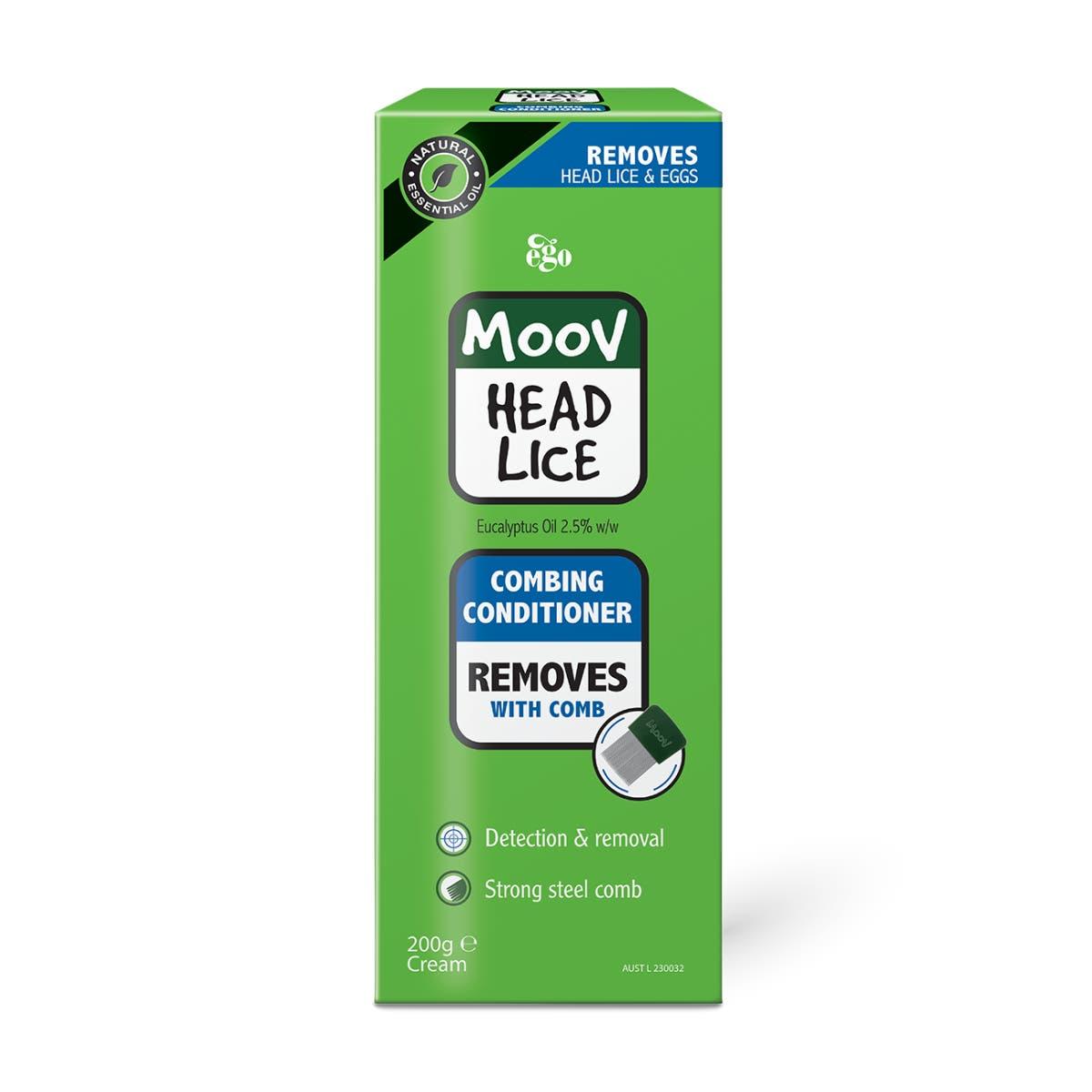 MOOV Head Lice Combing Conditioner 200g